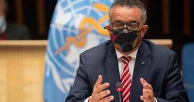 Dünya Sağlık Örgütü Genel Direktörü Tedros Adhanom Ghebreyesus kendisini karantinaya aldı