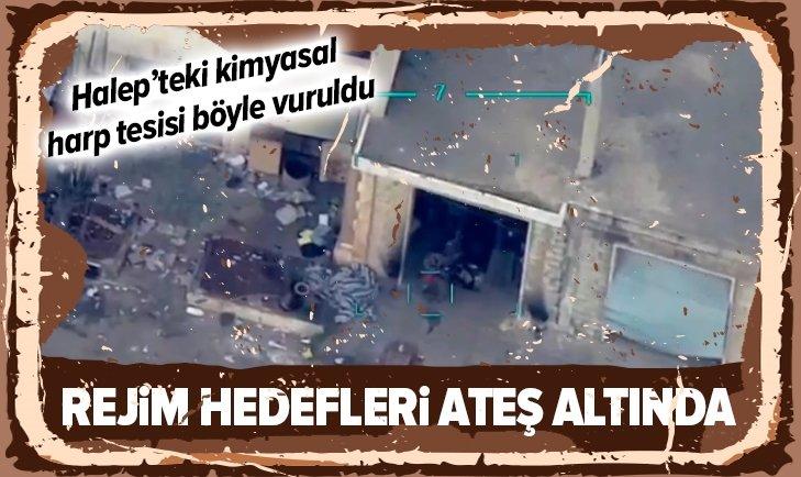 REJİM HEDEFLERİ ATEŞ ALTINDA! TSK YERLE BİR ETTİ...