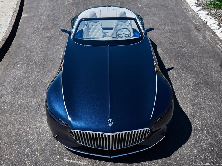 2017 mercedes-benz vision maybach 6 cabriolet concept - a haber