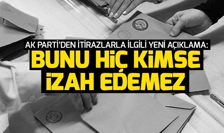 AK Parti YSK Temsilcisi Özelden itiraz açıklaması: Bunu hiç kimse izah edemez