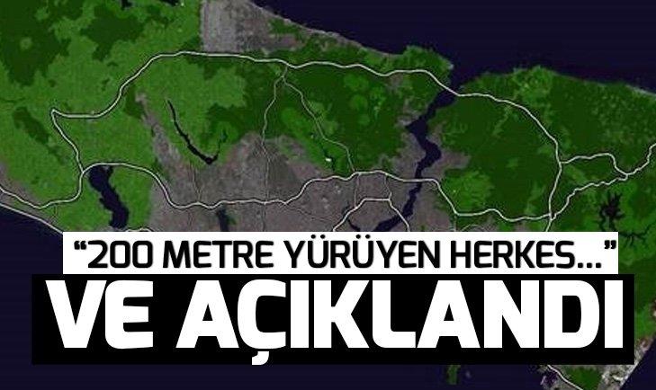 Binali Yıldırım'dan İstanbul'a müjde! İşte Yeşil İstanbul projesinin detayları...