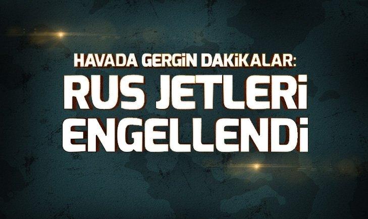 ABD İLE RUS JETLERİ KARŞI KARŞIYA GELİNCE...