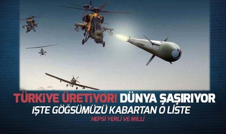 Türkiye üretiyor! Dünya şaşırıyor