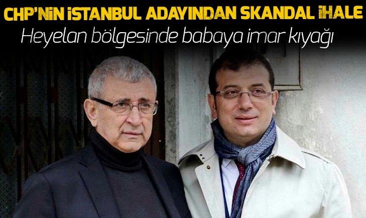 CHP'nin İstanbul adayı Ekrem İmamoğlu'ndan skandal ihale