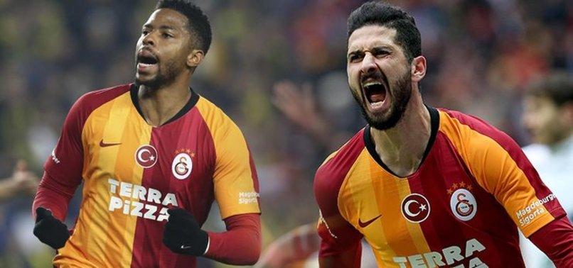 Galatasaray'da dört imza birden!