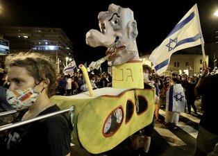 İsrail'de Netanyahu karşıtı gösteriler ülke geneline yayılıyor