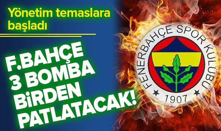 FENERBAHÇE 3 BOMBA BİRDEN PATLATACAK!