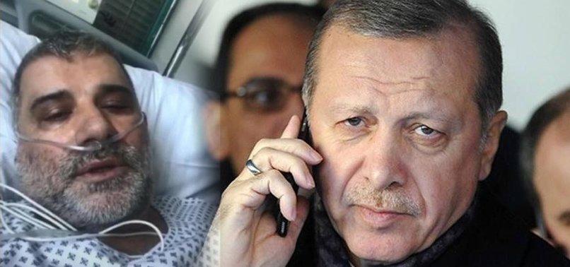 BAŞKAN ERDOĞAN'DAN KORONAVİRÜSÜ YENEN TÜRK'E GEÇMİŞ OLSUN TELEFONU