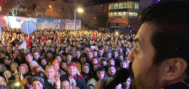 AĞRI'DA SEÇİMİ KAZANAN SAVCI SAYAN'DAN ÖNEMLİ MESAJ!