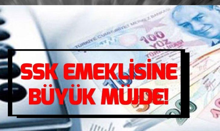 SSK EMEKLİSİNE EN AZ BİN 895 TL