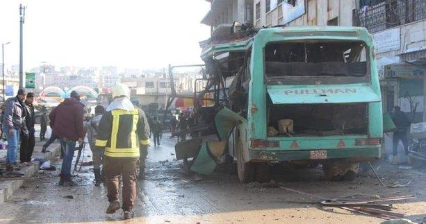Afrin'e kalleş saldırı! İşte ilk görüntüler...