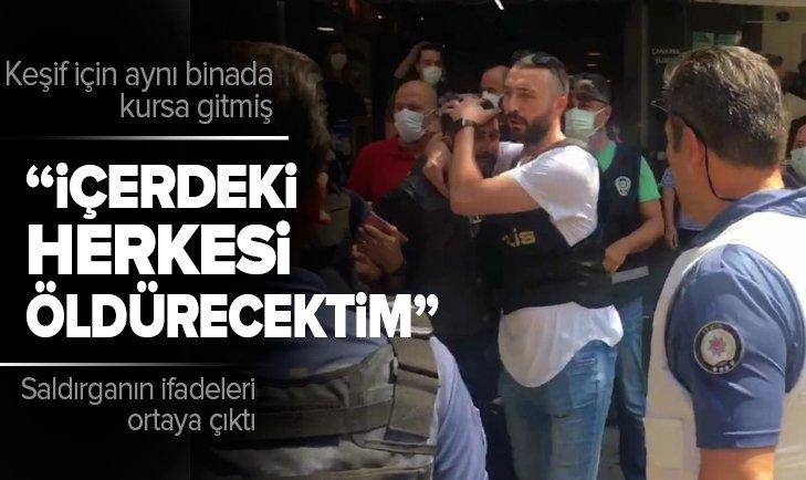Son dakika | HDP İzmir binasına saldıran Onur Gencer'in ifadeleri ortaya çıktı! Keşif için aynı binada kursa gitmiş