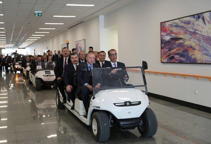Başkan Erdoğan Bilkent Şehir Hastanesini açtı! Açılıştan dikkat çeken kareler...