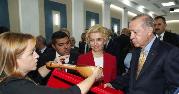 Başkan Erdoğan'a en özel hediye