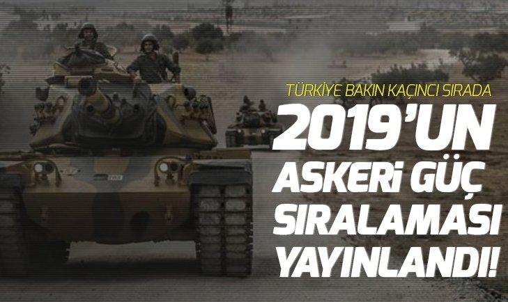 2019 EN GÜÇLÜ ASKERİ GÜÇ SIRALAMASI!