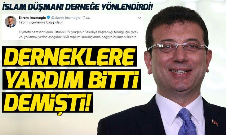 İMAMOĞLU'NUN İSLAM ALERJİSİ!