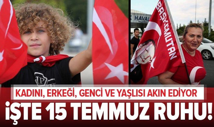 ATATÜRK HAVALİMANI'NDA DEV 15 TEMMUZ BULUŞMASI!