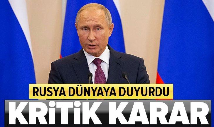 RUSYA'DAN ASKERİ VARLIĞINI ARTIRMA KARARI