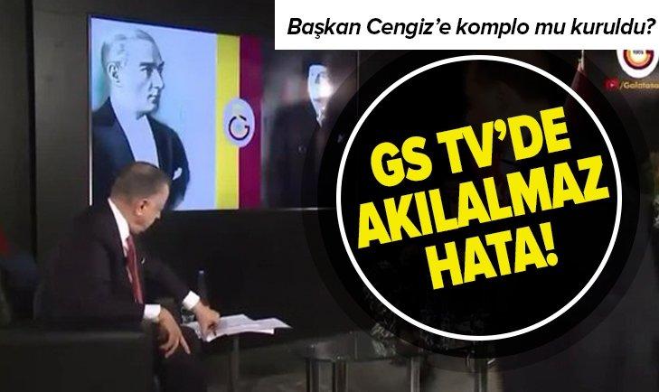GS TV YAYININDA AKILALMAZ HATA! MUSTAFA CENGİZ'E KOMPLO MU KURULDU?