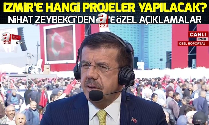 ZEYBEKCİ'DEN İZMİRLİLER'İ HEYECANLANDIRACAK PROJE!