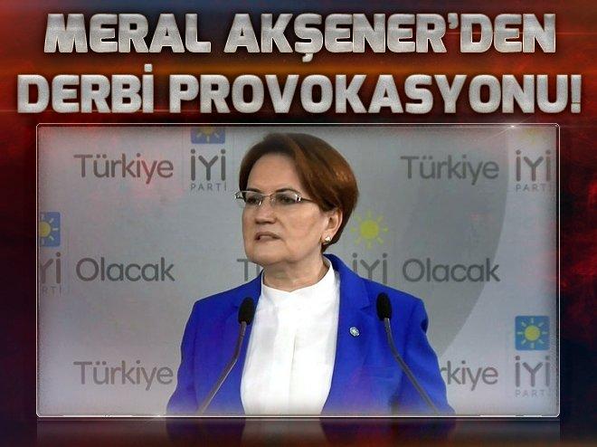 Meral Akşener'den provokatif tweet