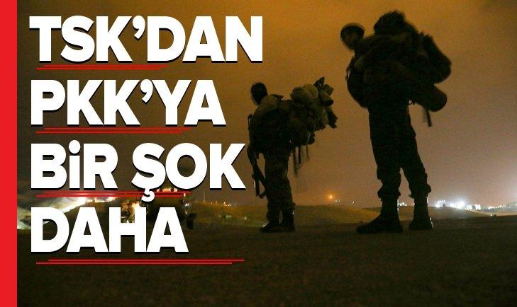 PKK'YA BİR DARBE DAHA İNDİRİLDİ