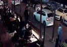 İstanbul'da kadın, kaldırımda yürüyen kadına yumrukla saldırdı