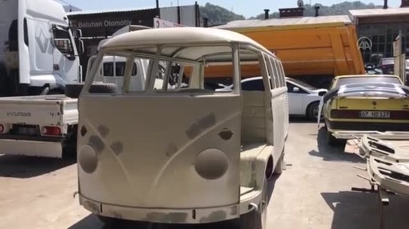 1964 model Volkswagen T2'nin son hali görenleri şaşırttı