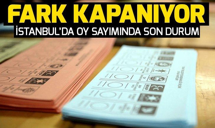 İstanbul seçimlerinde son durum! İstanbul oy sayımında son dakika