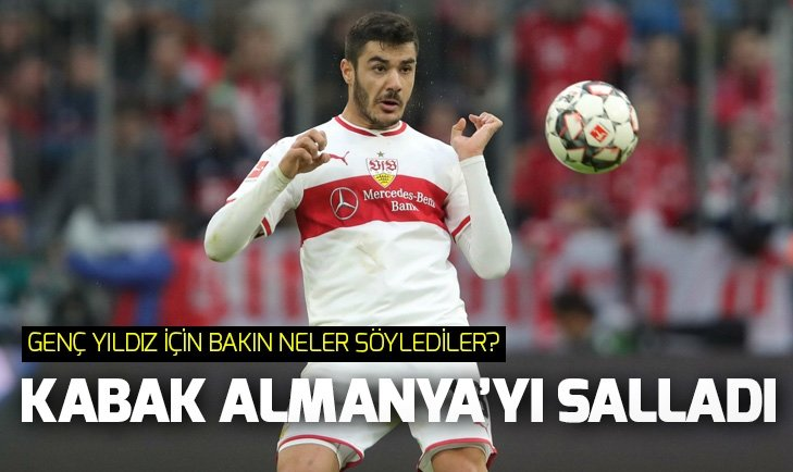OZAN KABAK ALMANYA'YI SALLADI