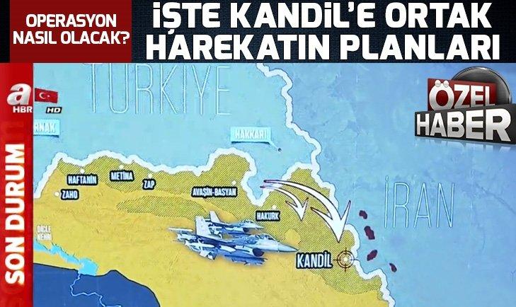 Türkiye ve İran PKK'ya ne zaman operasyon düzenleyecek? Kandil'e yönelik operasyonun planları hazır