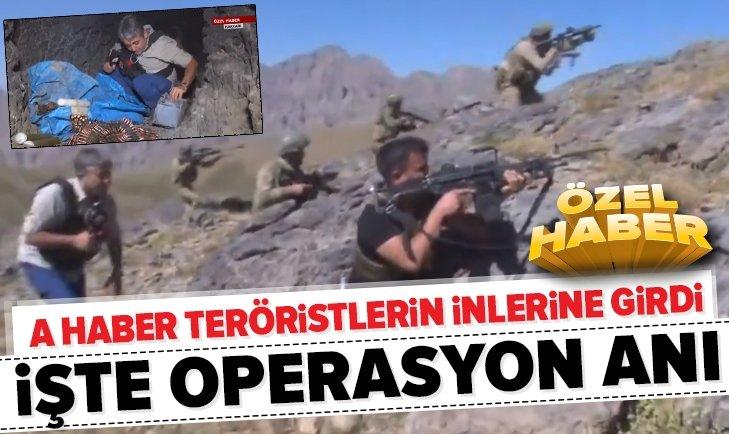 PKK TERÖR ÖRGÜTÜNE KIRAN DARBESİ! İNLERİNE GİRİLDİ