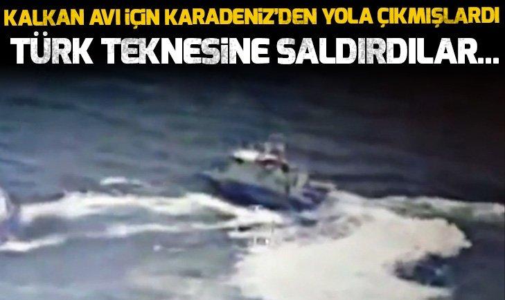 KARADENİZ'DE GERGİNLİK! TÜRK BALIKÇILARA ATEŞ AÇTILAR...