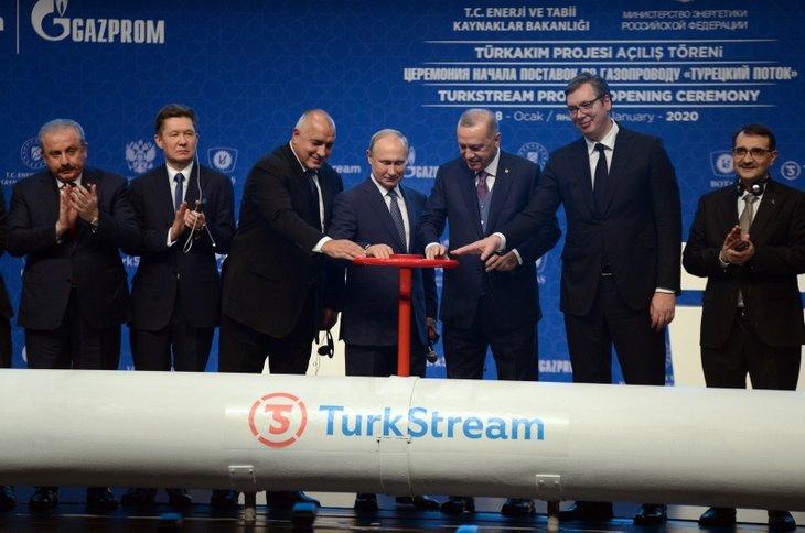 TürkAkım doğal gaz boru hattı açıldı! İşte tarihi kareler