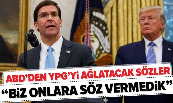 ABD'DEN GERİ ADIM! DİKKAT ÇEKEN YPG AÇIKLAMASI