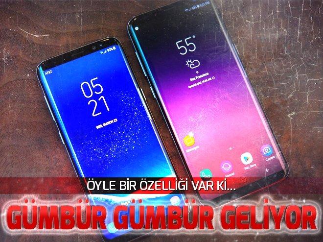 GALAXY S9 'GÜMBÜR GÜMBÜR' GELİYOR!