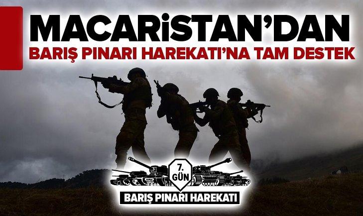 MACARİSTAN'DAN BARIŞ PINARI HAREKATI'NA TAM DESTEK