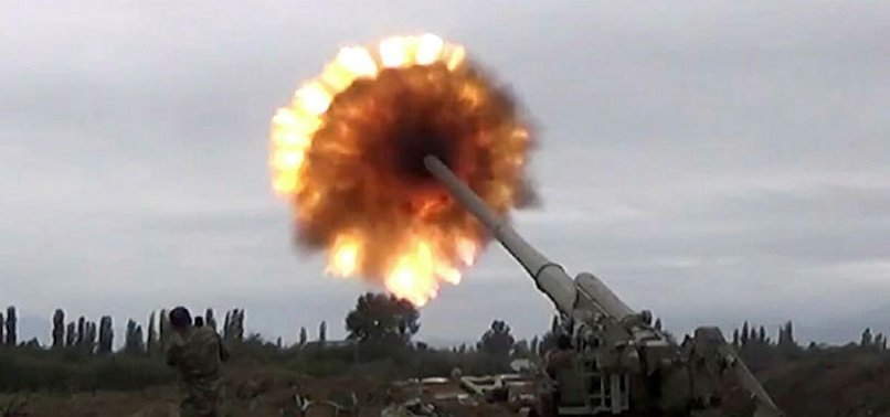 Azerbaycan Ermeni ordusuna ait mevzileri imha etti! Ermeni ordusu ölü ve yaralılarını tahliye etmekte güçlük çekiyor