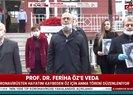 Koronavirüsten hayatını kaybeden Prof. Dr. Öz için Cerrahpaşada 1 dakikalık saygı duruşu! Gözyaşları sel oldu |Video