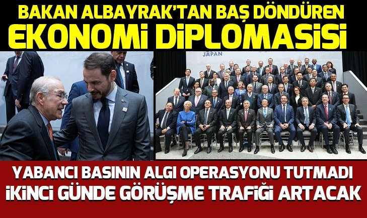 Bakan Berat Albayrak'tan baş döndüren ekonomi diplomasisi