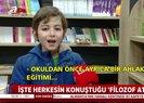 """""""Filozof"""" çocuk Atakan videosu hayrete düşürdü! Atakan kimdir, kaç yaşında?"""