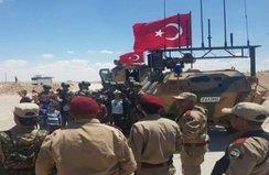 Türk askeri Münbiç'te!.. İşte ilk görüntüler