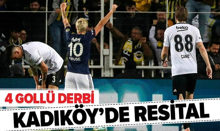 Kadıköy'de 4 gollü derbi