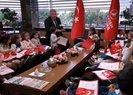 THY Genel Müdürü 23 Nisan nedeniyle çocukları ağırladı