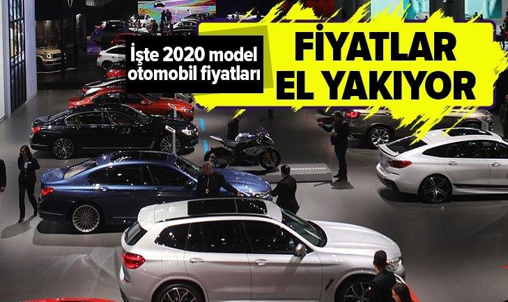 SIFIR ARABALAR EL YAKIYOR! İŞTE 2020 OTOMOBİL FİYATLARI...