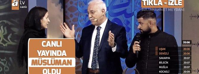 Hollandalı Anna canlı yayında Müslüman oldu
