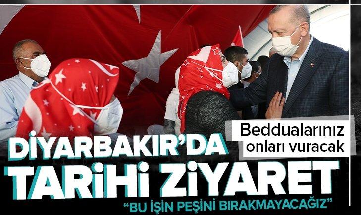 Son dakika: Başkan Erdoğan'dan Diyarbakır Anneleri'ne ziyaret