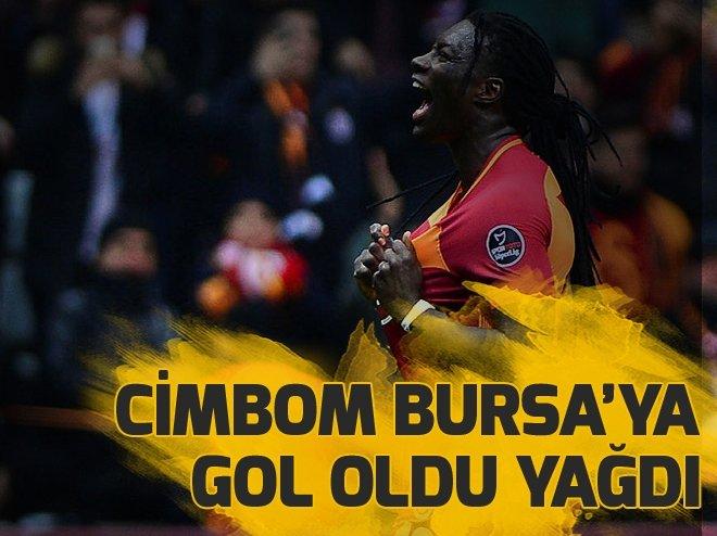 CimBom Bursa'ya gol oldu yağdı