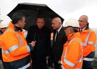 Başkan Erdoğan Galataport projesini yerinde inceledi