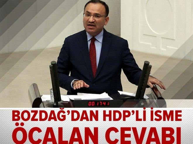 BEKİR BOZDAĞ'DAN HDP'Lİ İSME ÖCALAN CEVABI
